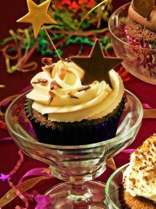chocotoffee doodah cupcake
