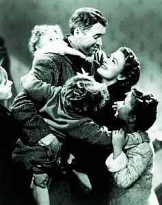 JAMES STEWART & DONNA REED IT'S A WONDERFUL LIFE (1946)