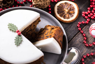 alcohol free christmas cake