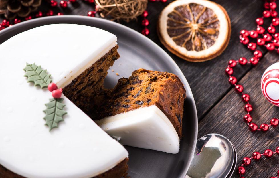 alcohol free christmas cake