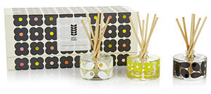 Orla Kiely reed diffuser gift set