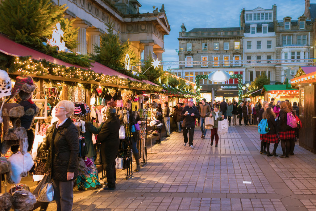 A Christmas market Pic: Istockphoto