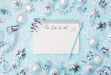 Christmas to do list Pic: Istockphoto