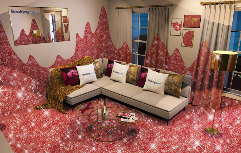 Living room in House of Sparkle