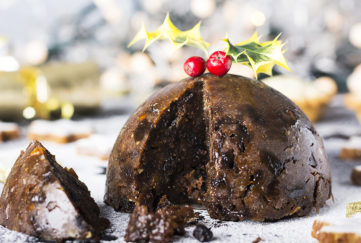 A Christmas pudding Pic: Istockphoto