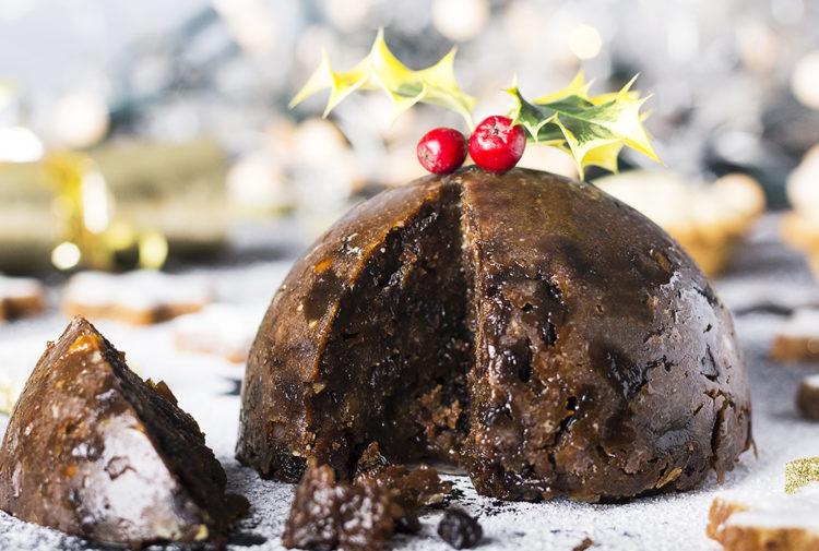 A Christmas pudding Pic: Istockphoto