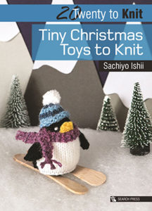 Front cover of 20 Tiny Christmas Toys to Knit