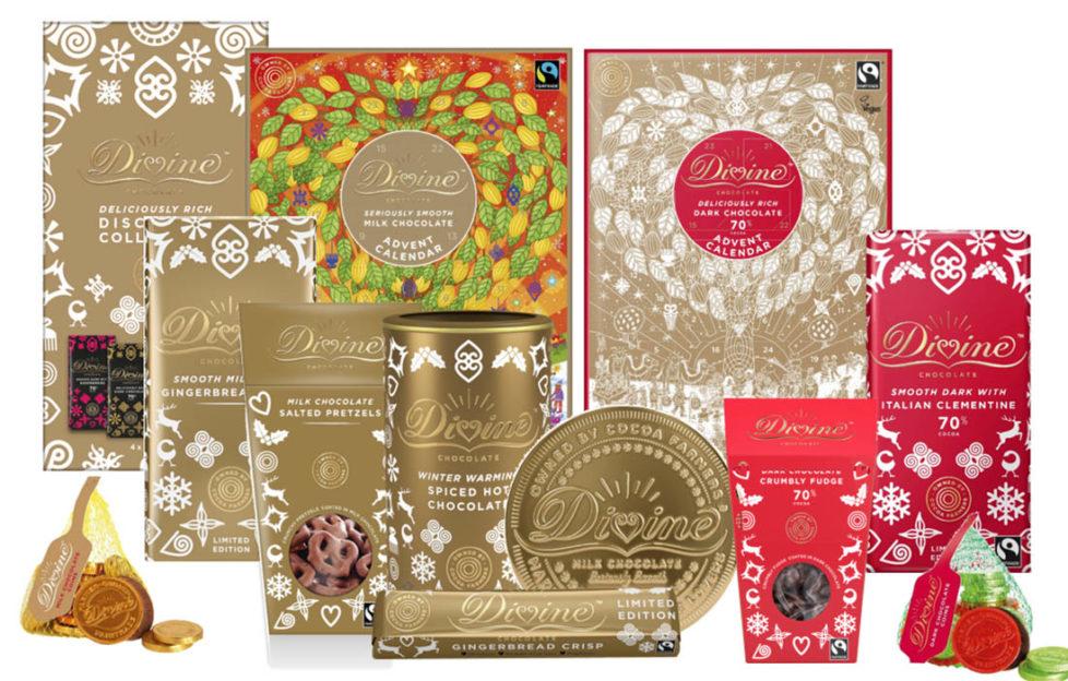 Devine festive chocolate range