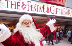 The Festive Gift Fair entrance
