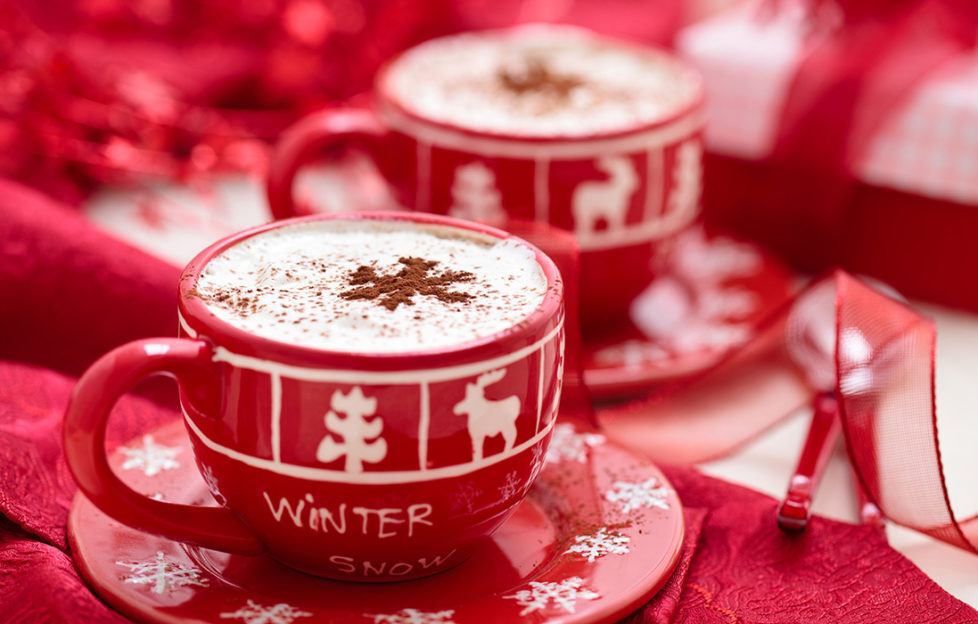 2 cups of gingerbread latte