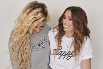 Stacey Solomon and Sophie Hinchliffe