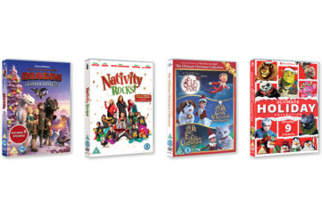 4 Xmas DVDS