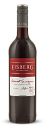 Bottle of Eisberg Cabernet Sauvignon alcohol free red wine
